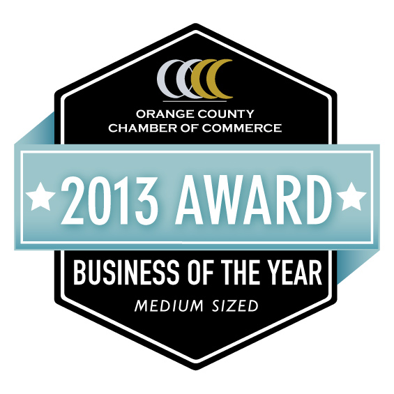 orange county chamber of commerce medium-sized business of the year award 2013