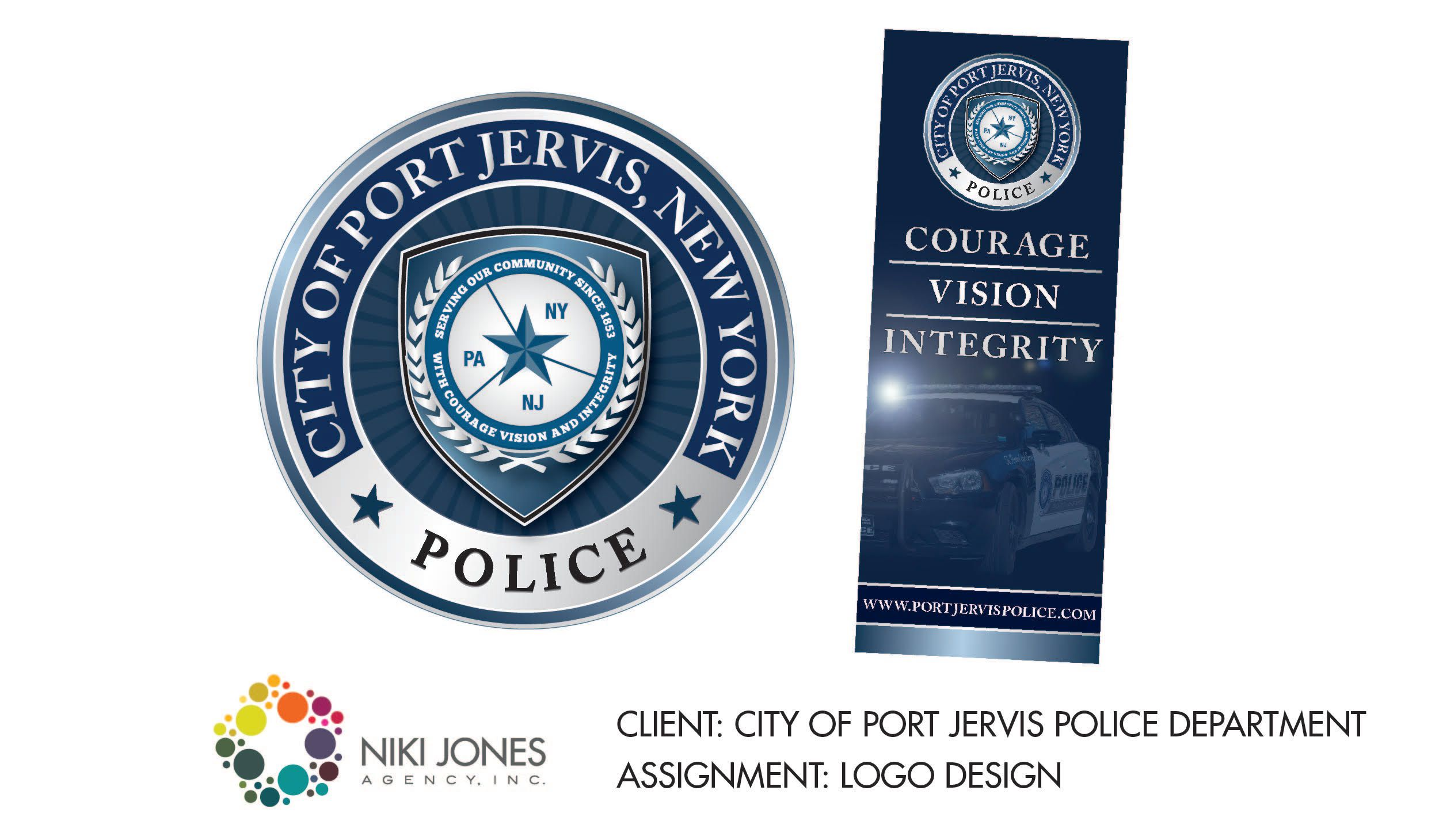 NJA Portfolio - Port Jervis Police Department Featured Work