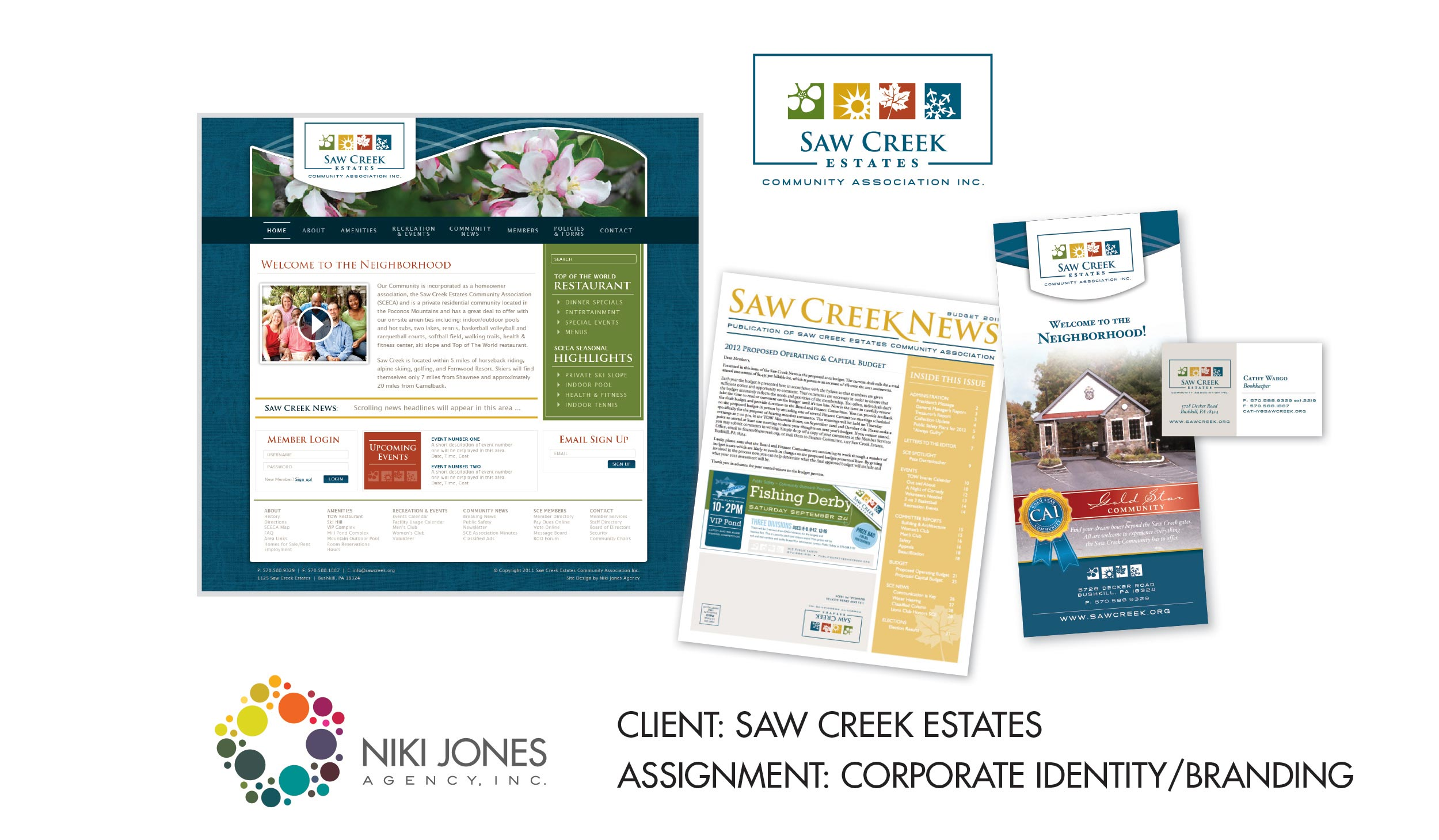 NJA Portfolio - Saw Creek Featured Work