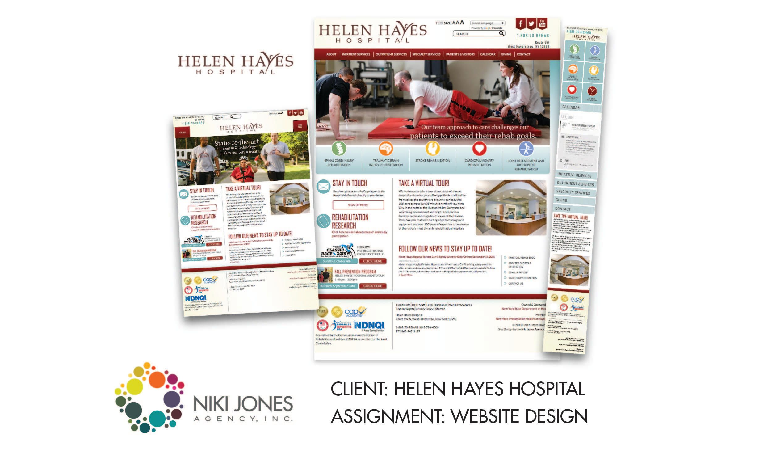 NJA Portfolio - Helen Hayes Hospital Featured Work