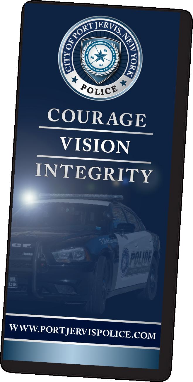 Port Jervis Police Banner