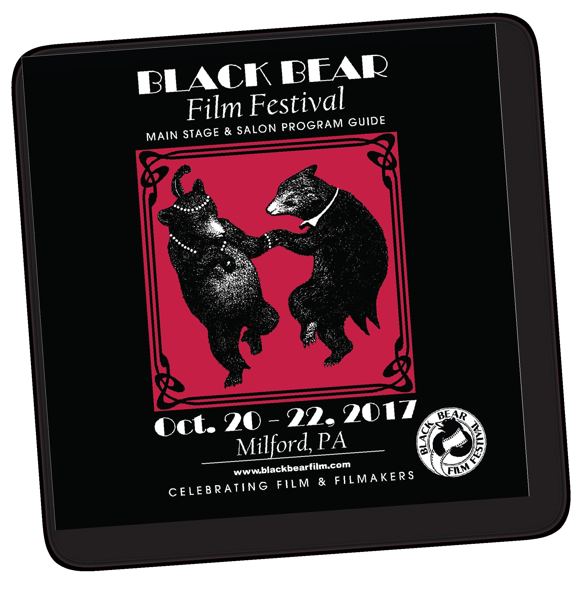 Black Bear 20s themes flyer