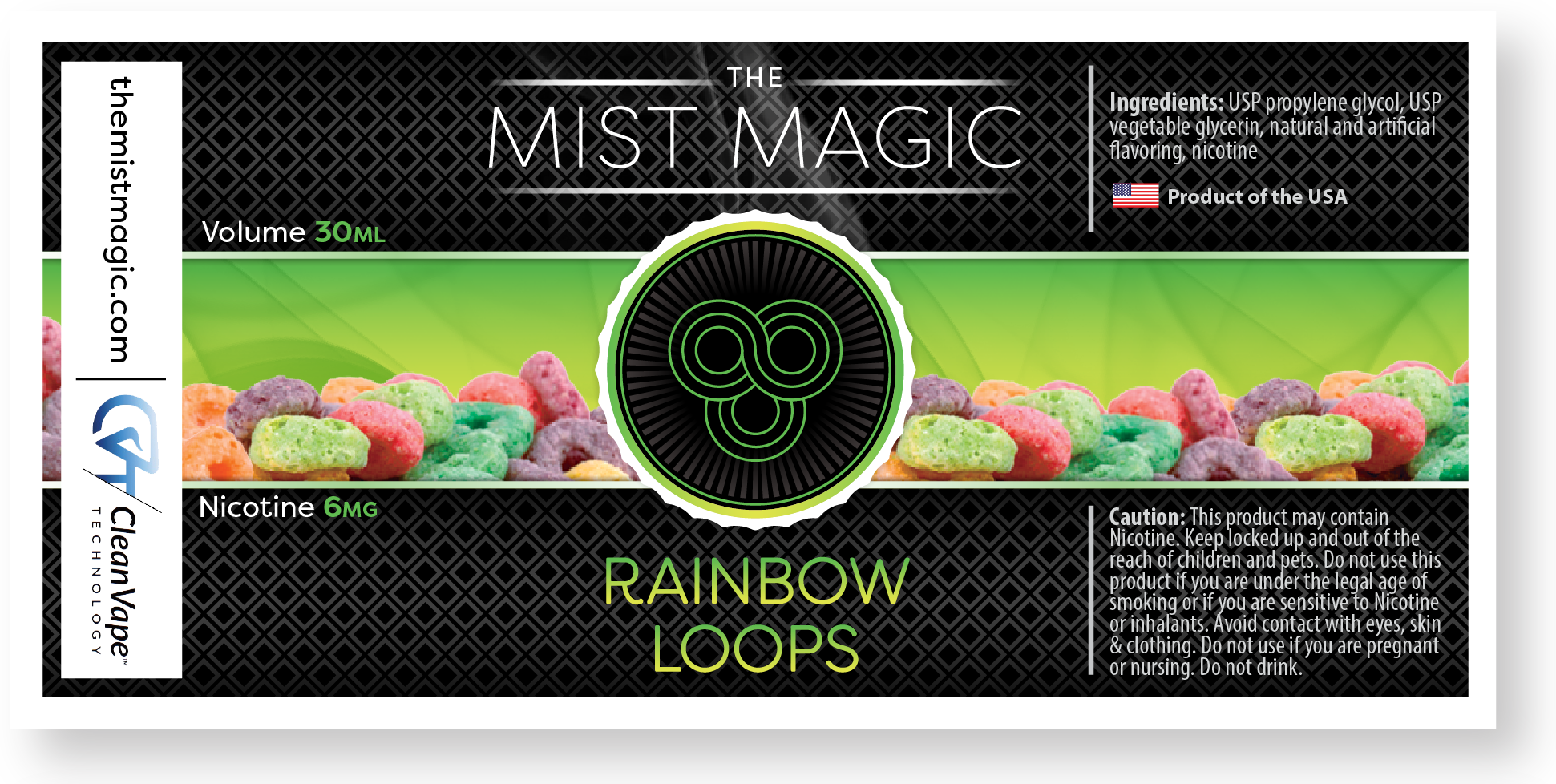 Mist Magic product packaging