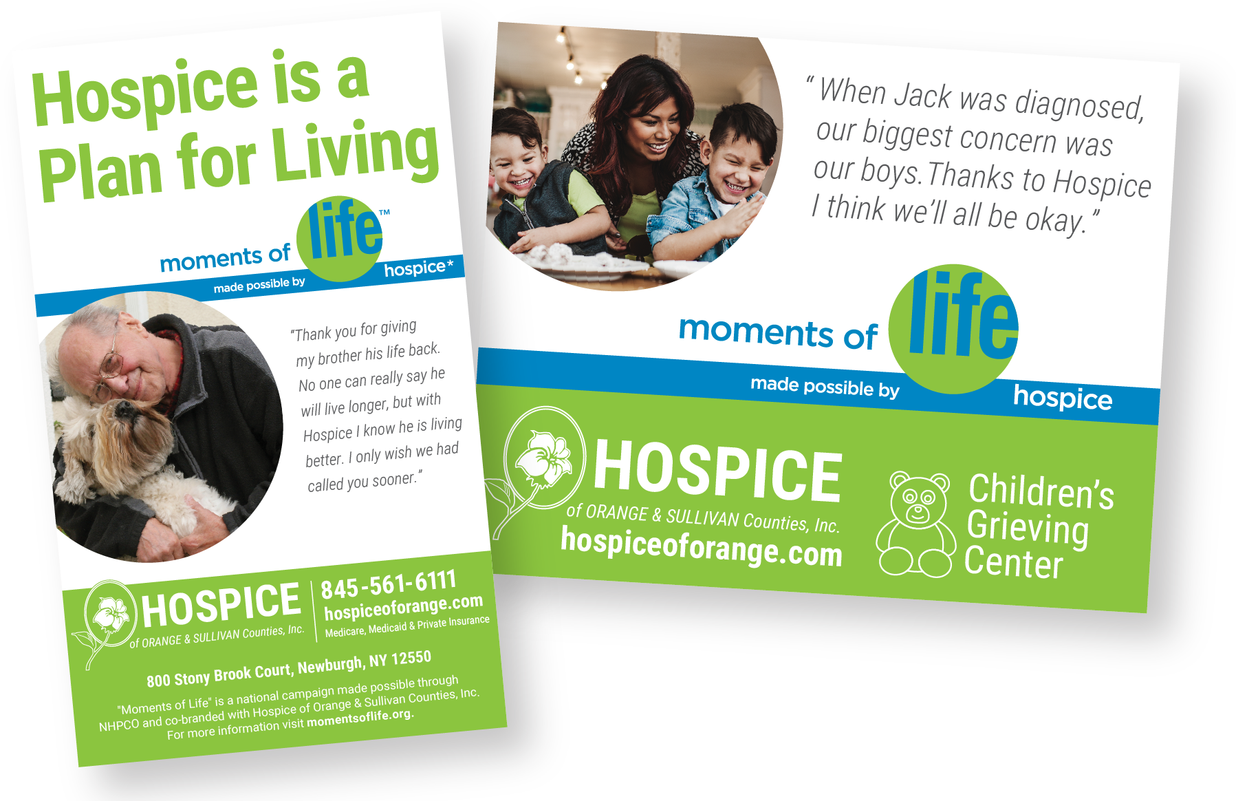 Hospice Moments of Life Campaign