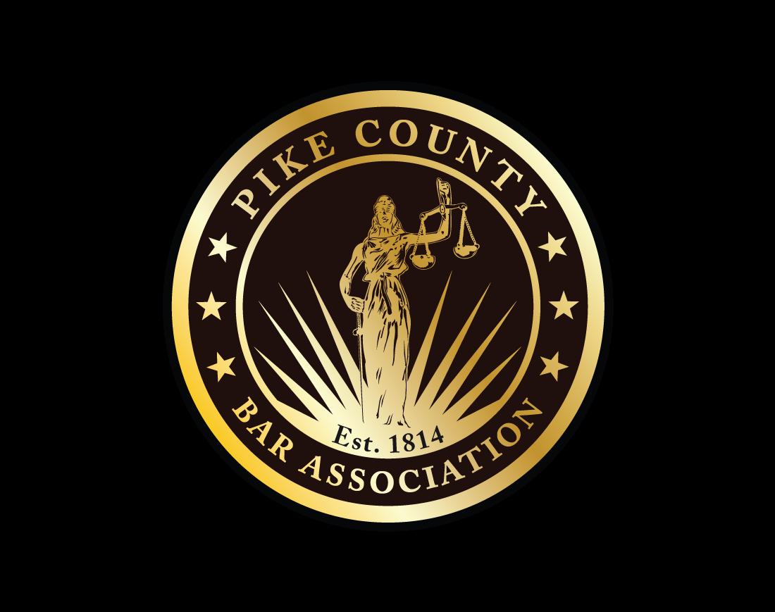 Pike county bar association logo