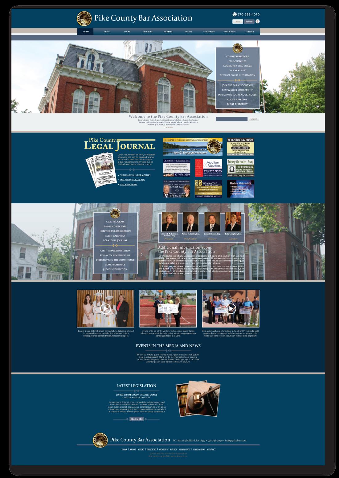 Pike county bar association website