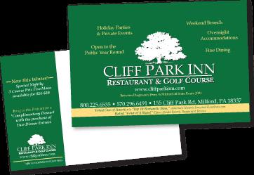 Cliff Park postcard